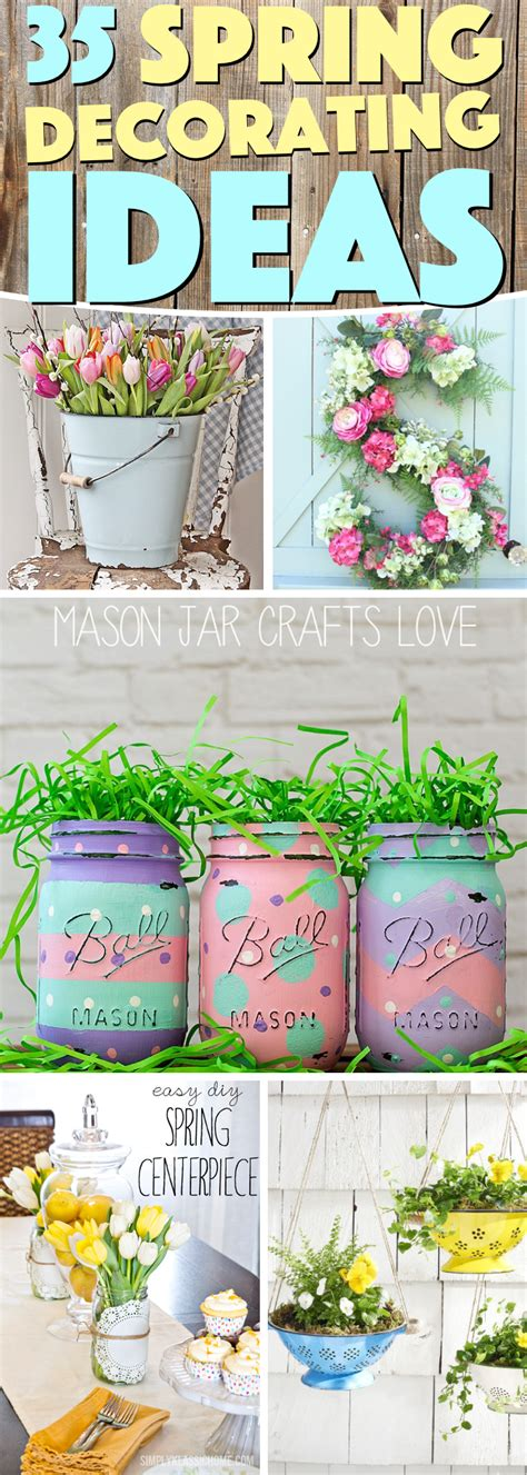 spring home decor best 35 spring decorating ideas to inspire your home