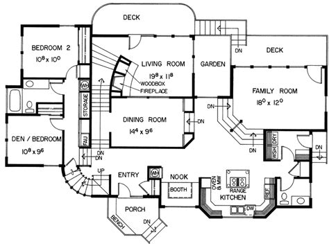 geneva modern mountain home plan 085d 0005 house plans