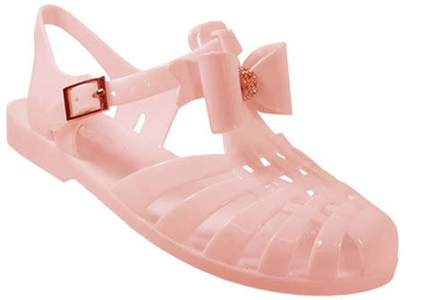 childrens jelly sandals childrens jelly bow diamante retro jellies