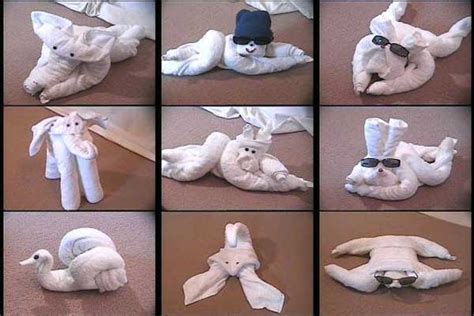 How To Do Towel Origami - cruise ship towel origami crafts