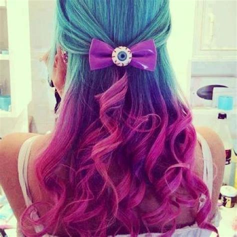 cool dyed hairstyles 1000 images about cool dyed hair on pinterest my hair