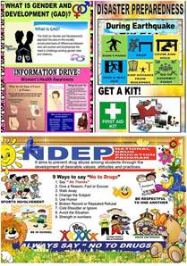 Bulletin Board Design For Home Economics by High Quality Posters For Gad Drrm And Ndep Corner Deped