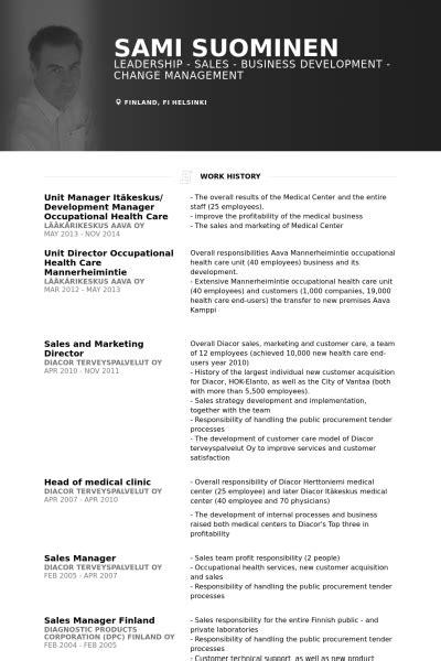 Unit Manager Sle Resume by It Manager Resume Sles Visualcv Resume Sles Database
