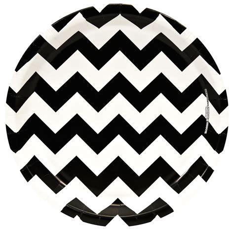 printable chevron pattern for nails chevron black dinner plates 8 birthdayexpress com