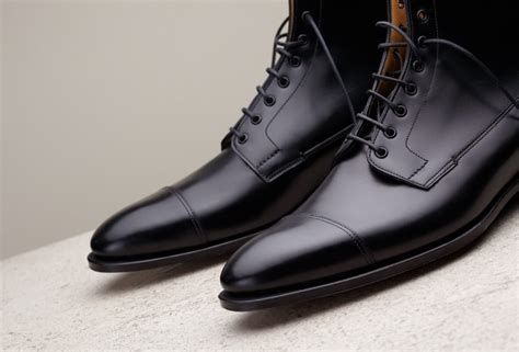 Handmade Dress Boots - handmade black leather boots dress boots for