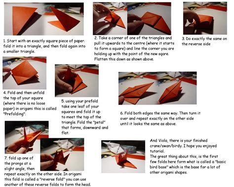 How To Make A Paper Football Shirt - bird fold origami 171 embroidery origami
