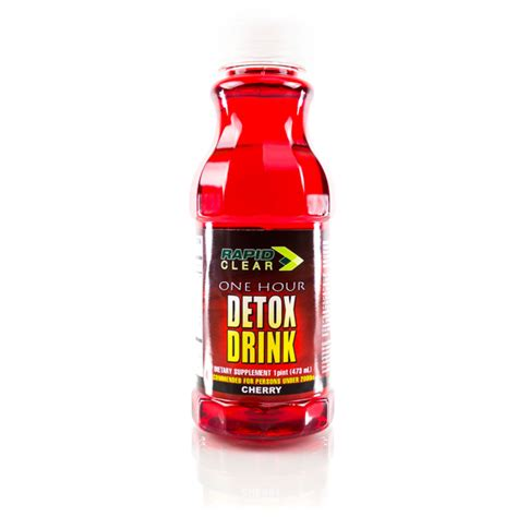 Rapid Detox Drink by Rapid Clear Cherry Detox Drink