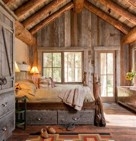 45 Cozy Rustic Bedroom Design Ideas Digsdigs Rustic Bedroom Design