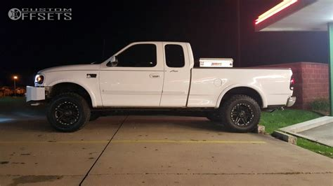 2000 ford f150 kits wheel offset 2000 ford f 150 slightly aggressive leveling kit