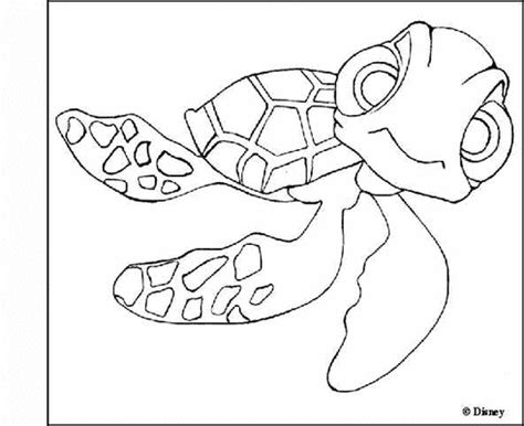 the gallery for gt finding nemo squirt coloring pages