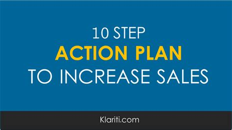 5 Step Marketing Plan A Sales And Marketing Strategy For 10 step plan for increasing sales