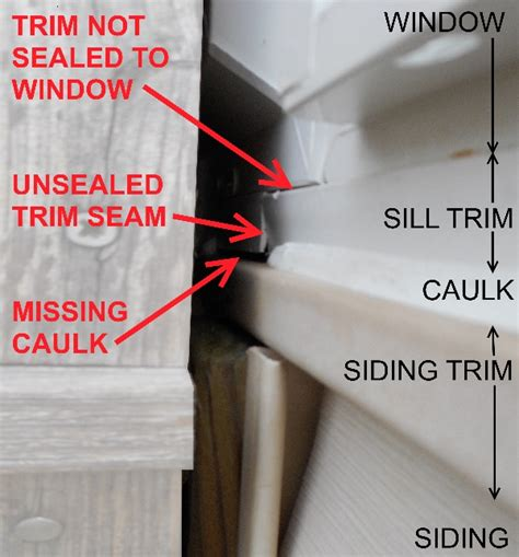 interior window caulking bad window replacement caulking