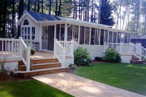 simple porch designs for mobile homes