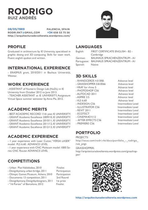 Modelo Curriculum Vitae Arquitecto Curriculum Vitae Curriculum Vitae Arquitecto