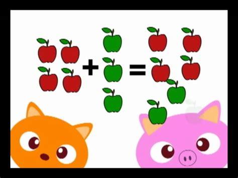 imagenes matematicas para niños preescolar aprendiendo a sumar y restar youtube