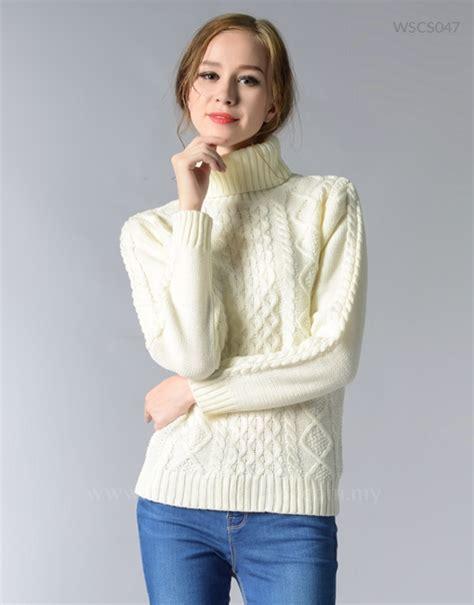 Sweater Retro fisherman sweater retro classic knitwear winter