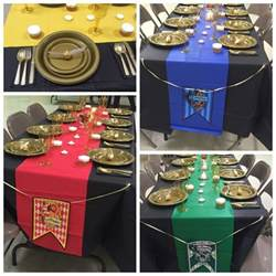 harry potter dekoration best 25 harry potter table ideas on harry