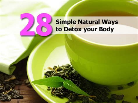 Ways To Detox At Home by 28 Simple Ways To Detox Your