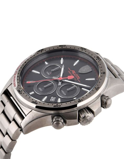 Ferrari Chronograph by Ferrari Limited Edition Pilota Chronograph Watch Man