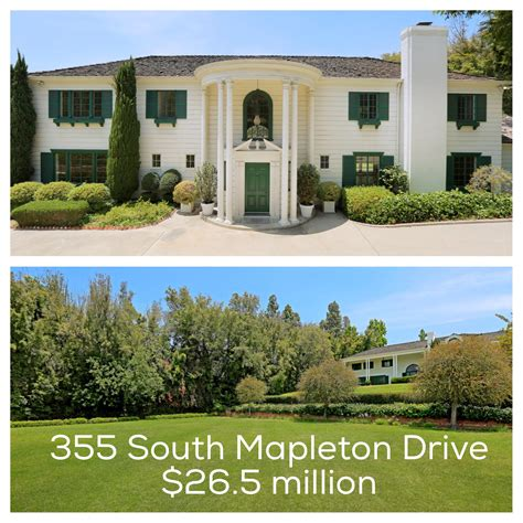 open house today open house today in holmby hills at 355 south mapleton drive listed at 26 5 million