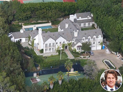 tom cruise mansion tom cruise is selling his beverly hills mega mansion