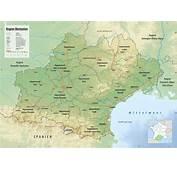 Carte De LOccitanie  Occitanie Des Villes