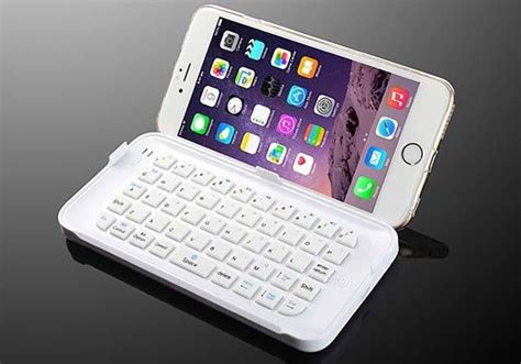 the ultra thin mini bluetooth keyboard for iphone 6 plus apple gadgets iphone phone cases