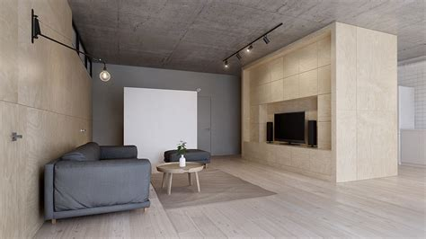 minimalist entertainment center minimalist apartment for a family of four