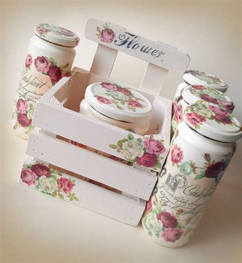 Decoupage Ideas - best 25 decoupage jars ideas on decoupage