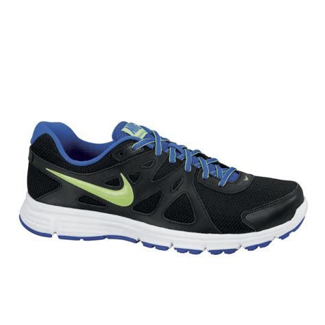 Nike Revolution Size 40 44 nike s revolution 2 running shoes black white green