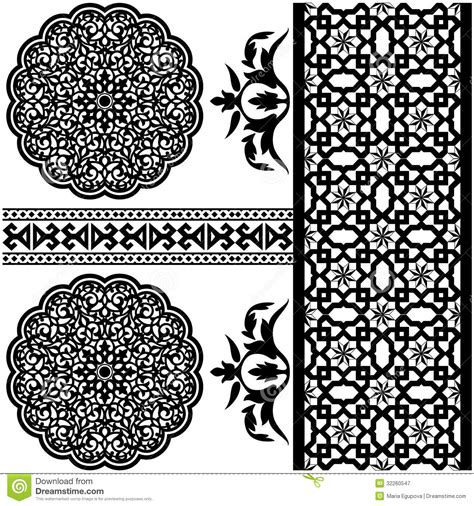download arabic pattern vector islamic pattern royalty free stock photography image