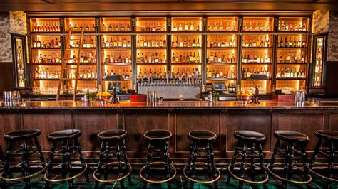 The At The Bar la whiskey bar seven grand storms into eater
