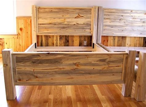 pine beds beetle kill pine bed blue stain headboard dreaming of denver pinterest stains