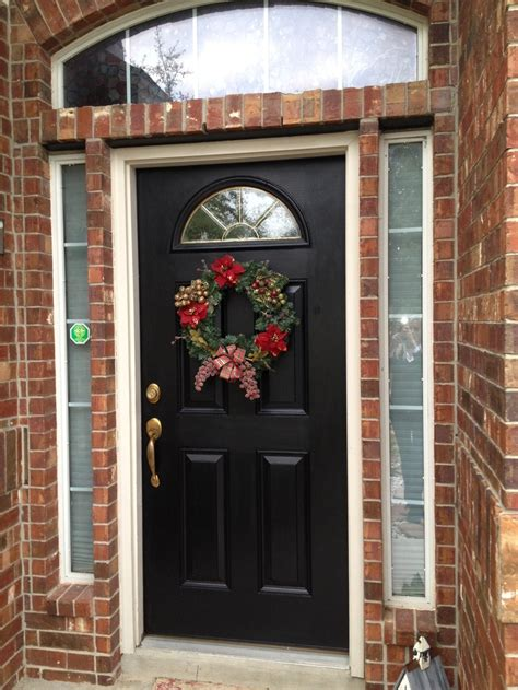 what paint finish for front door 14 best images about black interior doors on