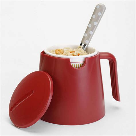 Cool Kitchen Knives cup noodles instant ramen mug the green head