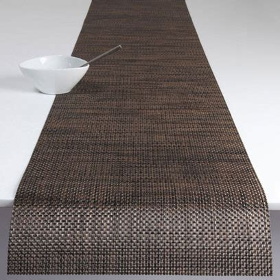 Chilewich Runner Rug Chilewich Basketweave Table Runner 14x72 Earth