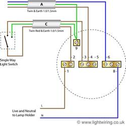 light circuit lighting wiring diagram light wiring