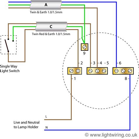 electric light wiring diagram uk dejual