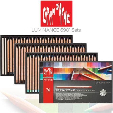 caran d ache luminance colored pencils caran d ache luminance 6901 lightfast pencil sets jerry