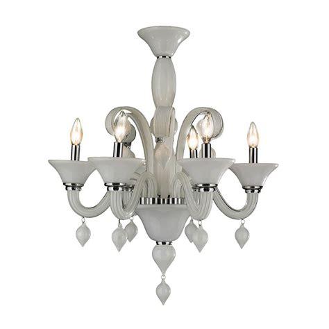venetian glass chandelier lighting worldwide lighting murano venetian style 6 light polished
