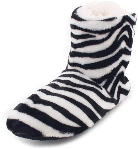 zebra print house shoes zebra print house shoes 28 images animal print velour house slippers with fur cuff
