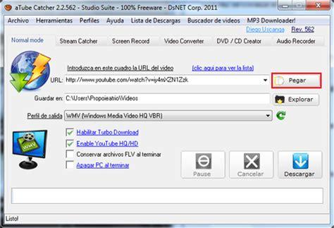 como descargar videos de youtube en formato 3gp youtube descargar videos de youtube con atube catcher