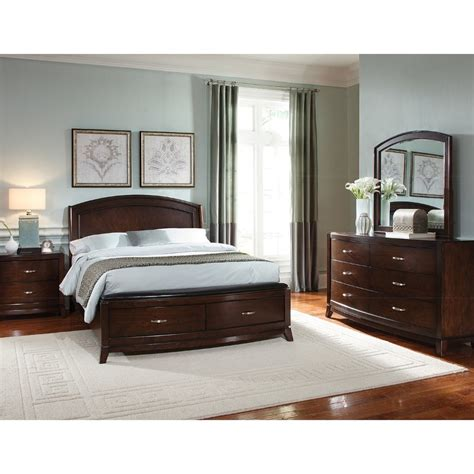 King Bedroom Sets by Avalon 6 King Bedroom Set Rcwilley Image1 800 Jpg