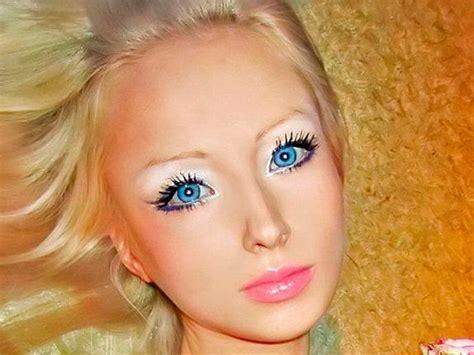 russian real life barbie valeria lukyanova valeria lukyanova the real life barbie from rusian car