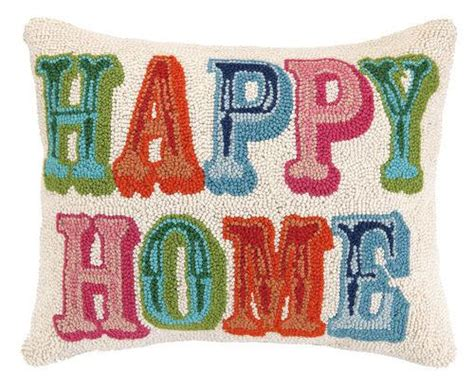 happy home products happy home hook pillow heart home
