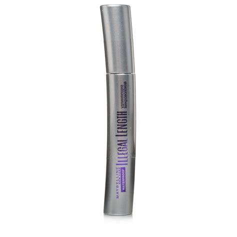 Maskara Maybelline Illegal Lengths maybelline illegal length waterproof mascara in black chemist direct