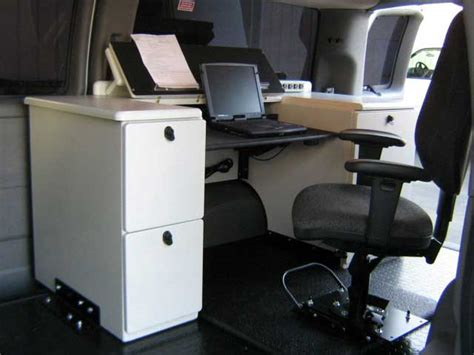 Mobile Desk For Truck by Midway Specialty Vehicles Your Custom Sprinter And