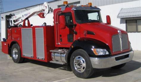 kenworth service truck kenworth introduces hybrid field service truck truck news