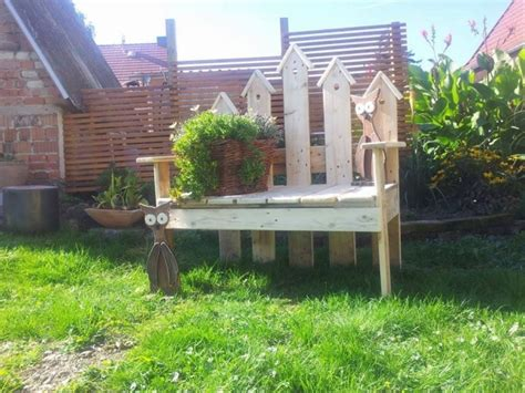 recycled garden bench furniture made with wood pallets pallet ideas recycled