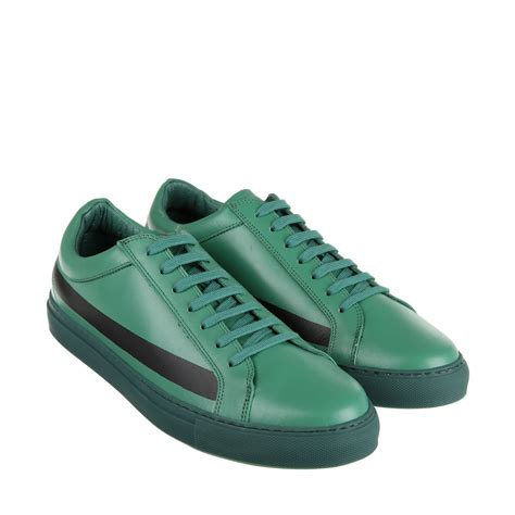 comme des garcons mens sneakers comme des gar 231 ons sneakers in green for lyst